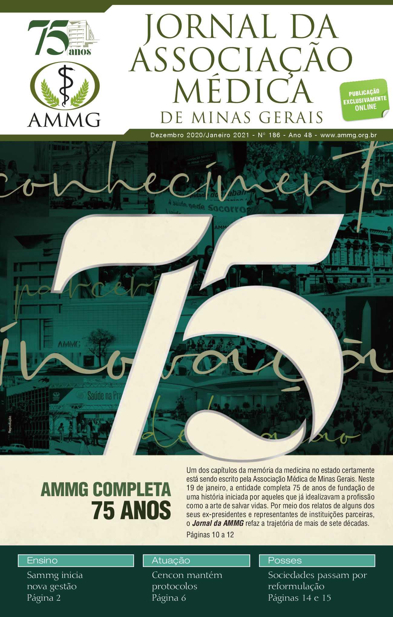 186 - Jornal AMMG - Dezembro 2020/Janeiro 2021