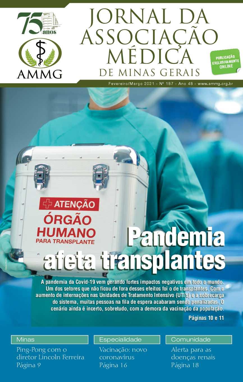 187 - Jornal AMMG - Fevereiro/Março 2021